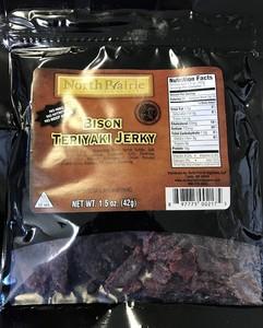 Bison Teriyaki Jerky 1.5 oz (by 5 get 1 free)